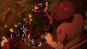 Arco de la Redada en el Escondite en anime