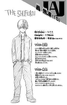 Shoto Todoroki Volume 2 Profile