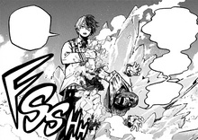 Shoto apprehends Ending