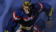 All Might stands off with All For One