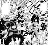 Class 1-B Hero Costumes (Manga)