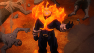 Endeavor defeats the Nomu