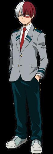 Shoto Todoroki school profile