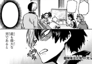 Class 1-A and Shoto watch the broadcast