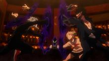 Kurogiri Intervenes (Anime)