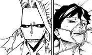 Toshinori apologizes to Sir Nighteye