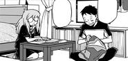 Koichi talking about the future with Kazuho