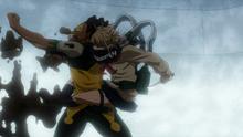 Himiko ataca a Lock Rock (Anime)