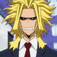 All Might weak form headshot