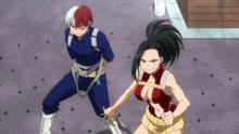 Momo saves Shoto