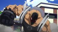 Rikiya Katsukame attacks