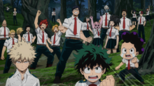 Class 1-A in Beast Forest