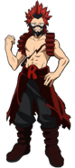 Eijiro Kirishima Hero Costume Profile