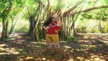 Koji finds a lost dog