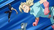Tatami attacks Class 1-A