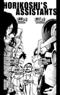 Volume 12 Horikoshi's Assistants