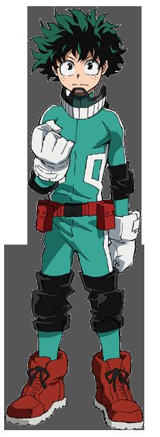 Izuku Midoriya Traje de héroe