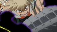 Katsuki threatens Kurogiri