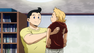 Mirio and his father