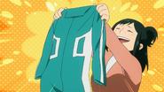 Inko makes Izuku's first hero costume