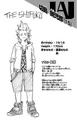 Eijiro Kirishima perfil Vol3