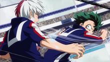 Izuku vs Shoto 2