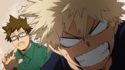 Katsuki and his dad