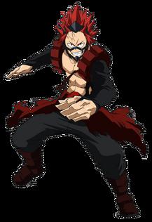 Eijiro Kirishima 3rd Hero Costume Action