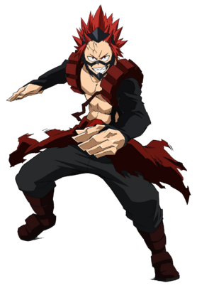 Eijiro Kirishima 3rd Hero Costume Action