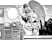 Hawks tries contacting Dabi in Osaka