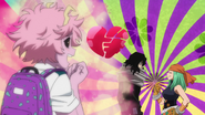 Mina watches Ms. Joke flirt