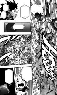 Dabi attacks Gigantomachia