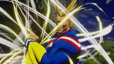 My Hero Academia One's Justice ALL MIGHT Gameplay Trailer with Ultimate Attacks, Poses, and Combos