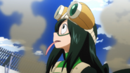Tsuyu Asui at exams end