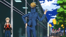 Best Jeanist and Katsuki patrol