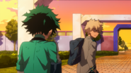 Deku reveals the truth to Kacchan