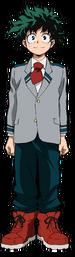 Izuku Midoriya school profile