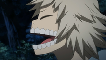 Juzo Honenuki laughing