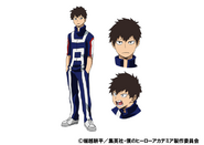 Sen Kaibara TV Animation Design Sheet