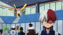 Shoto ignoring his father