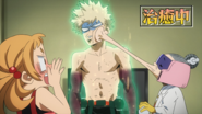 Katsuki is healed by Recovery Girl