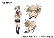 Himiko Toga TV Animation Design Sheet