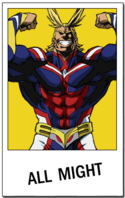 Carta - All Might