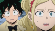 Izuku and Melissa horrified