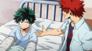 Eijiro asks for Izuku's help