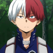 Shoto Todoroki hero license exam arc