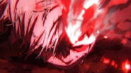 Shoto Todoroki near defeat