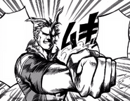 Toshinori vows to bend fate