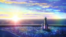 I-Island Sunset