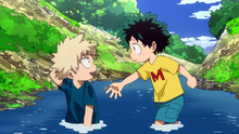 Izuku And Katsuki As Kids